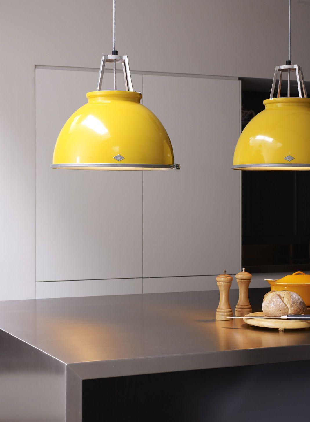 Bring the sunshine inside original btc titan pendant yellow