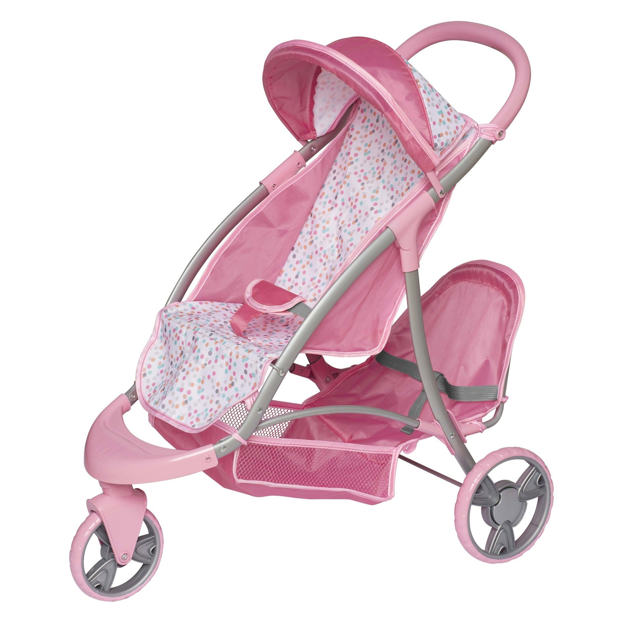 Perfectly Cute Baby Doll Double Stroller Duo Jogger