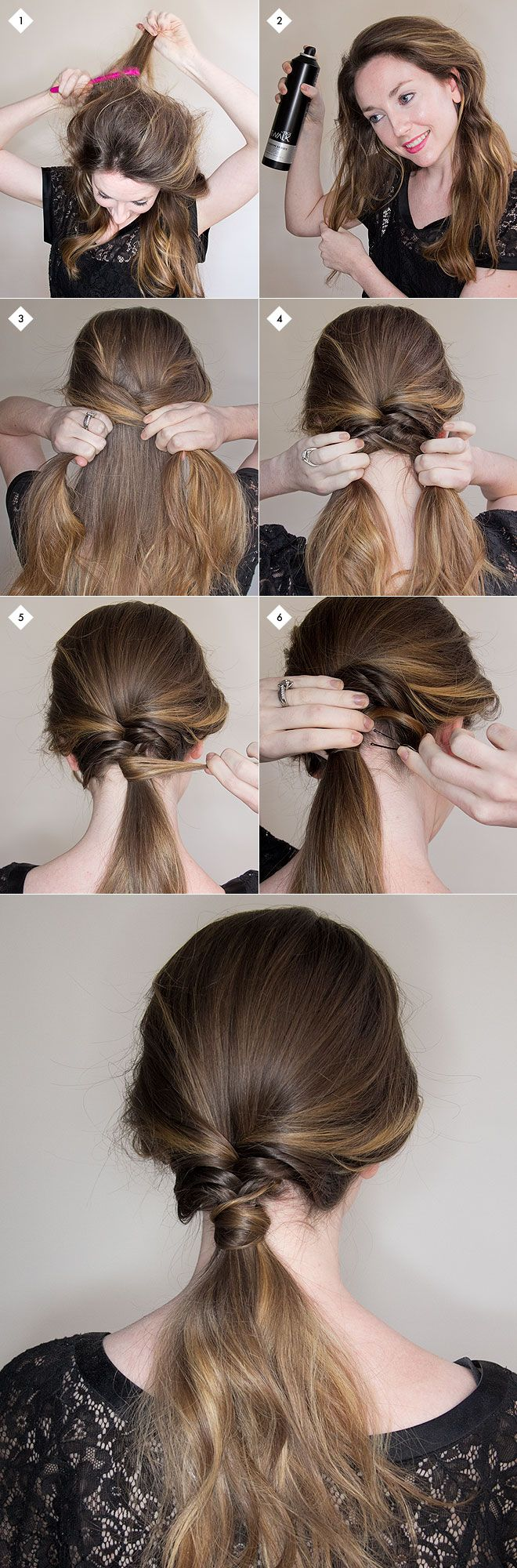 Chic simple hairstyles anyone can do simple hairstyles easy