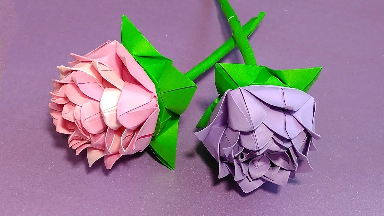 Origami rose modular easy paper rose ideas for christmas origami rose modular easy paper rose ideas for christmas decoration mightylinksfo