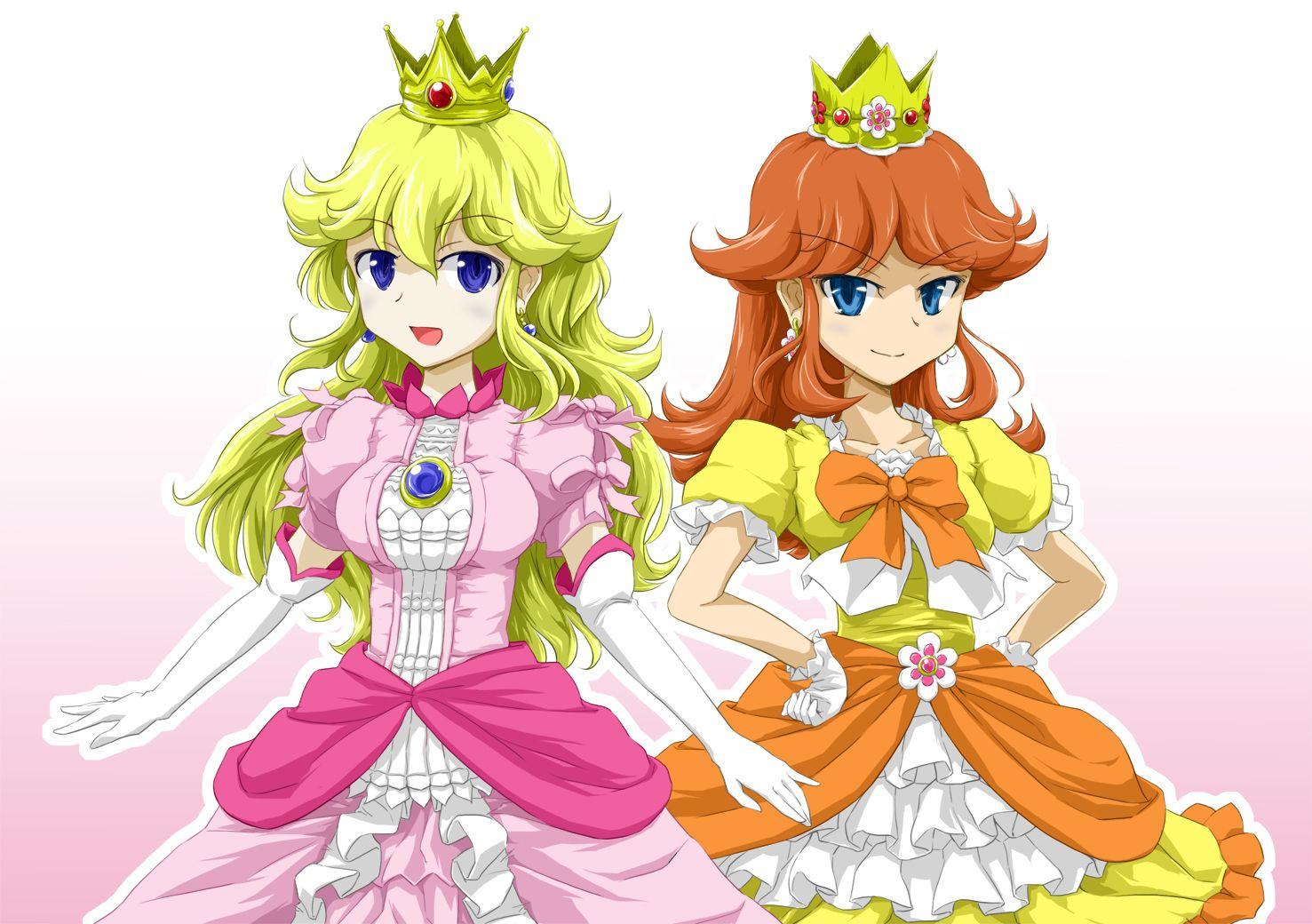 Sexy princess peach and daisy nude-7772