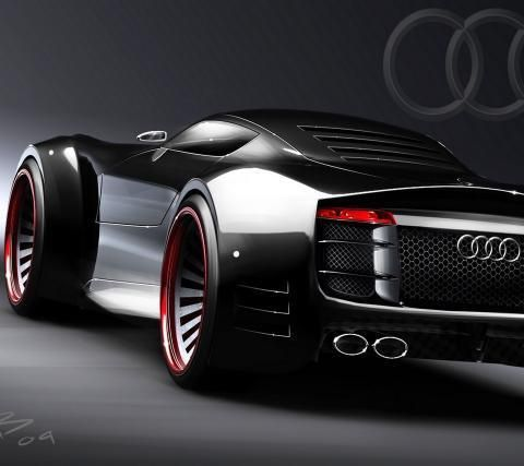 Futuristic Concept Of Audi R Audi Cars And Auto Body Repair Shops - Audi auto body
