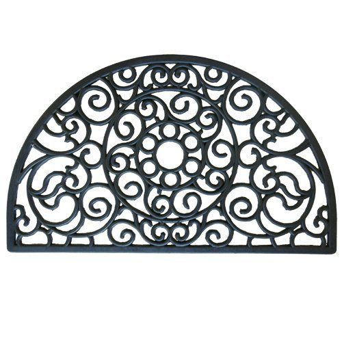 Sonoma Coast Rubber Cast Iron Doormat 18 X 30 Outdoor Half