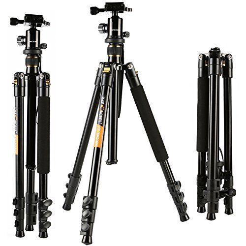 Camera Tripod, K&F Concept Aluminum Tripod TM2324 62inch ... https://www.amazon.com/dp/B015CGRREI/ref=cm_sw_r_pi_dp_x_4lwayb6939ZAN