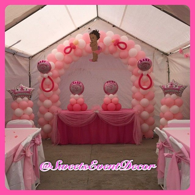 Princess Baby Shower By Sweets Event Decor BABY SHOWER DECORATIONS   EVENT  DECOR   BALLOON DECOR