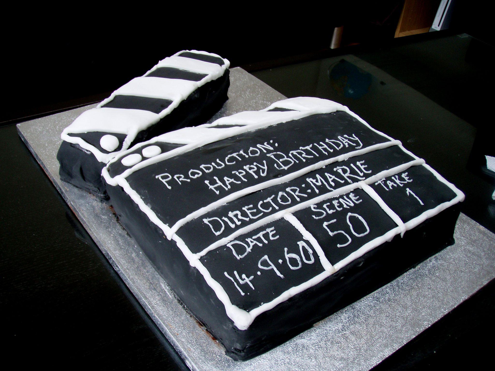 Th Birthday Cakes For Men Th Cake Decoration Ideas - Movie themed birthday cake