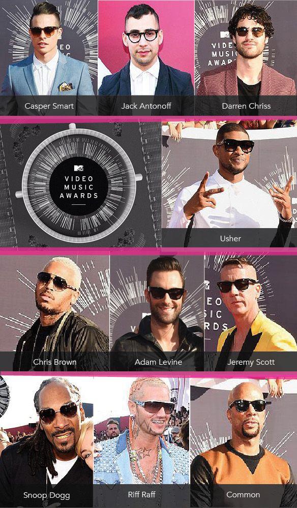 Guys Flaunt their Spexy Style at the VMAs: http://eyecessorizeblog.com/?p=6117