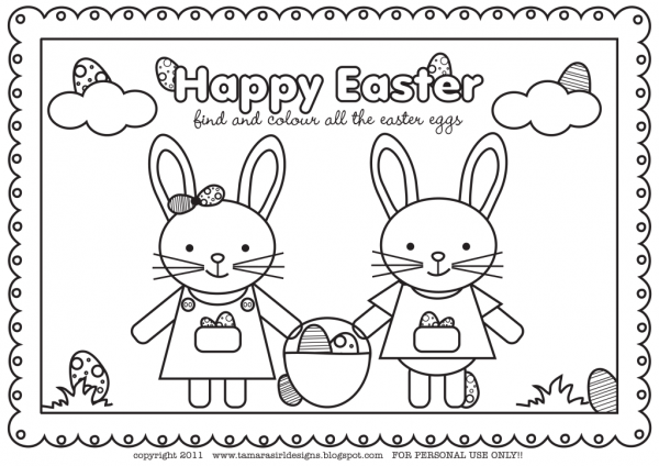 Super Cute Easter Colouring Page The Organised Housewife Easter Coloring Pages Easter Colouring Easter Colors