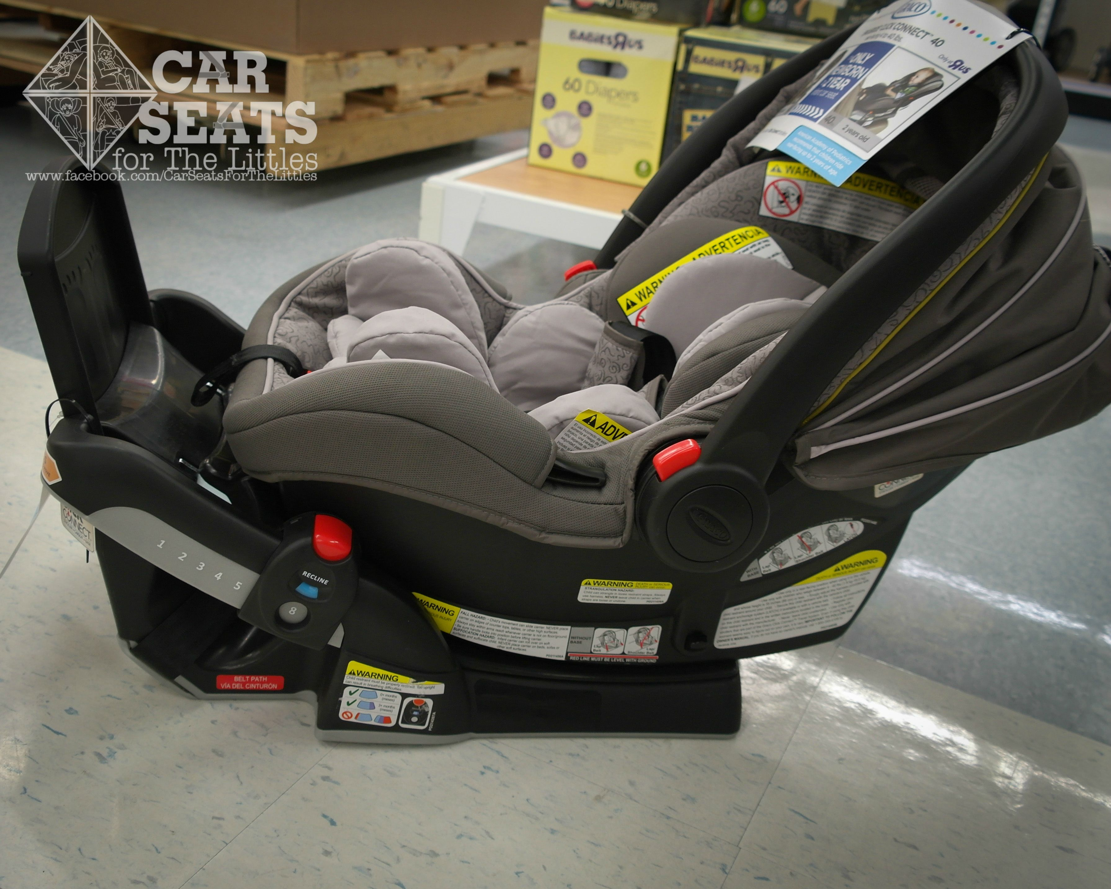 Comparison of Graco SnugRide Seats. Carrier weight of 7.5 lbs ...