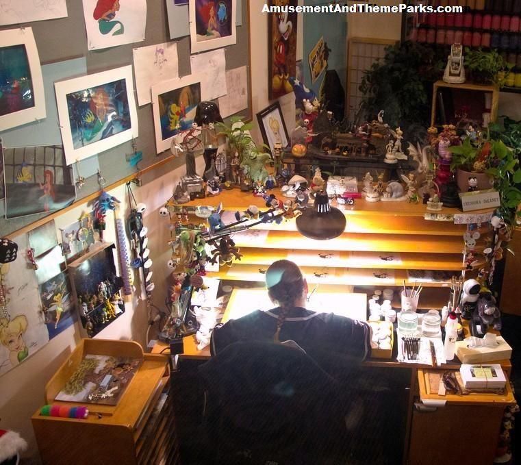 Inside The Designers Studio: Artist Inside The Disney Animation Building Disney's Hollywood Studios AmusementAndThemeParks