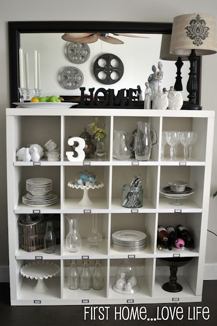 Gentil PB Storage System Hack, Using IKEA Expedit, Trim, And Metal Labels...take A  Look!