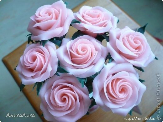 DIY Como hacer una Rosa en porcelana fría muy fácil