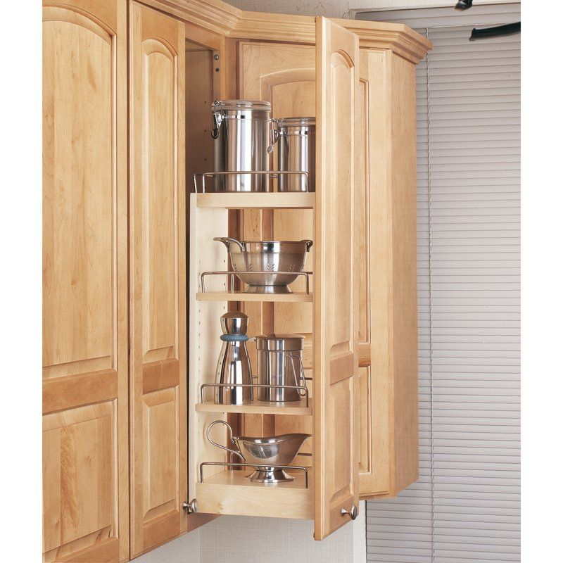 Wall Cabinet Organizer Pull Out Pantry | Wall cabinet ...