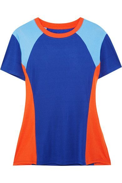718d99c8f68 TORY SPORT Color-Block Coolmax Stretch-Cotton Jersey T-Shirt.  torysport   cloth  run