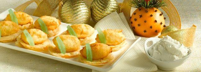 Recette Bouchées de Ricotta et d'oranges frites : http://www.ilgustoitaliano.fr/recette/bouchees-de-ricotta-et-doranges-frites