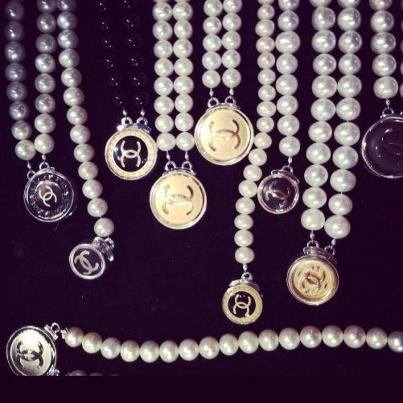 In love with this beautiful Vintage Chanel Jewelry from Monkee's of Fredericksburg. What's not to LOVE? Chanel and Pearls!!