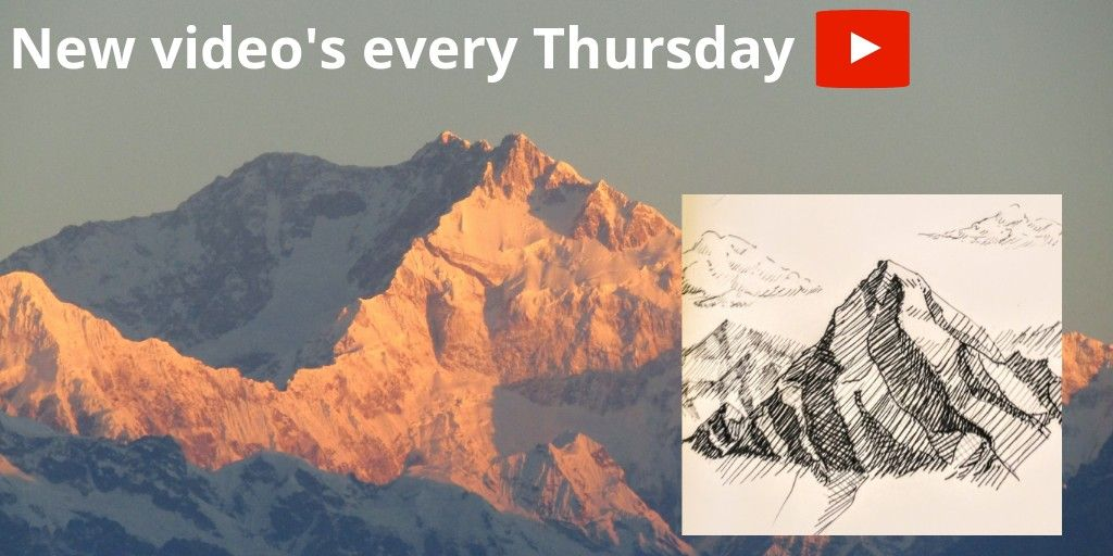 How To Draw Realistic Mountains Subscribe And Ring The Bell To Be Apart Of All The Beneficial Content Youtube Art Realistic Drawings Artist Blog