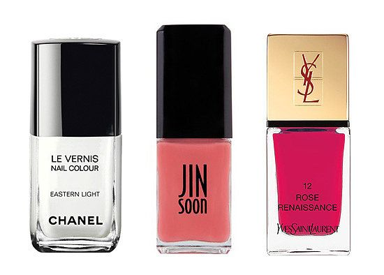 Bright polishes fit for the bride