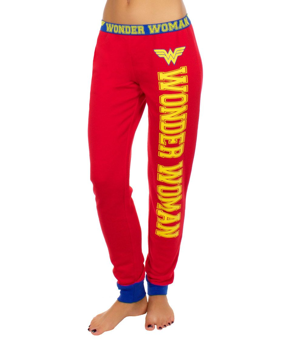 Red Wonder Woman Jogger Pants Pants For Women Women Jogger Pants Jogger Pants