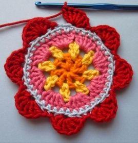 Lecons De Granny Apprenez A Crocheter Carres Fleurs Etoiles