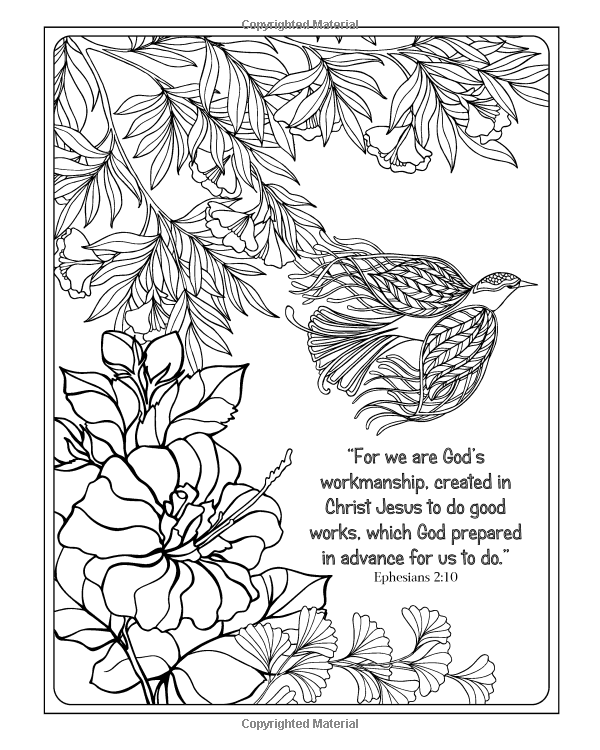 Amazon.com: The Word of God: Religious Coloring Book for Adults ...