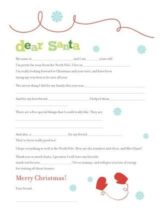 16 free letter to santa templates for kids santa letter template 16 free letter to santa templates for kids pronofoot35fo Gallery