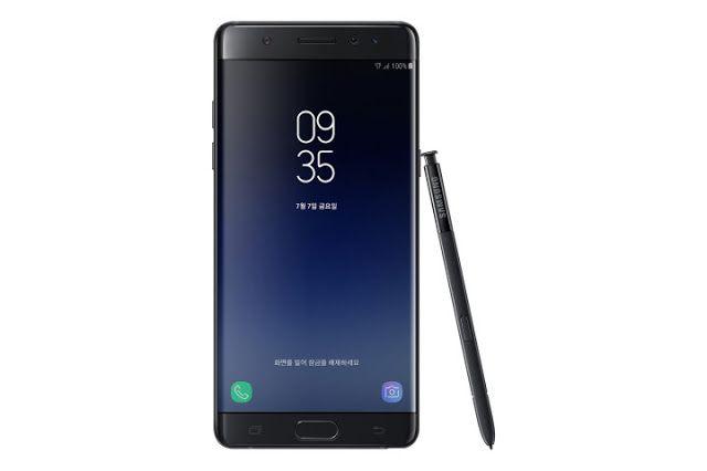 رسميا النوت 7 في الأسواق باسم جلاكسي نوت 7 Fe وبثمن منخفض بعد المعانات الكبيرة مع منتج نوت 7 قررت سامسونج في وقت سابق سحب ا Samsung Galaxy Galaxy Note Samsung