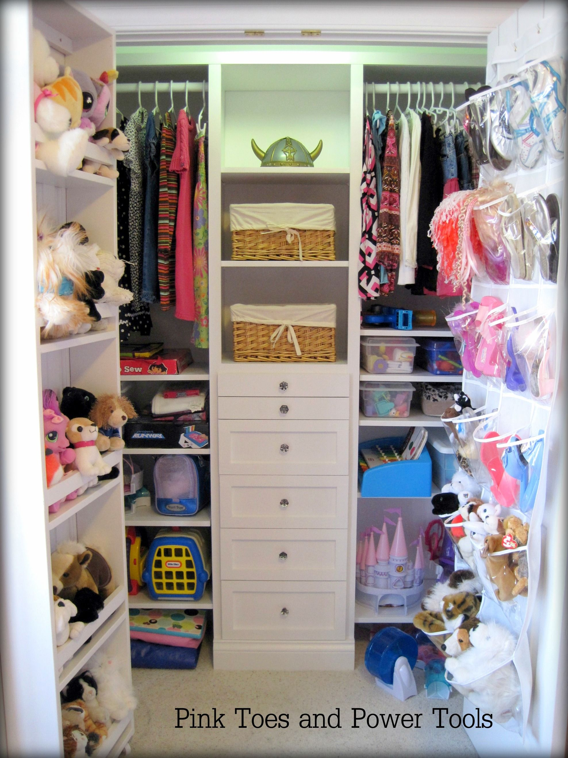 organizer of build in storage plans shelves closet picture free diy projects