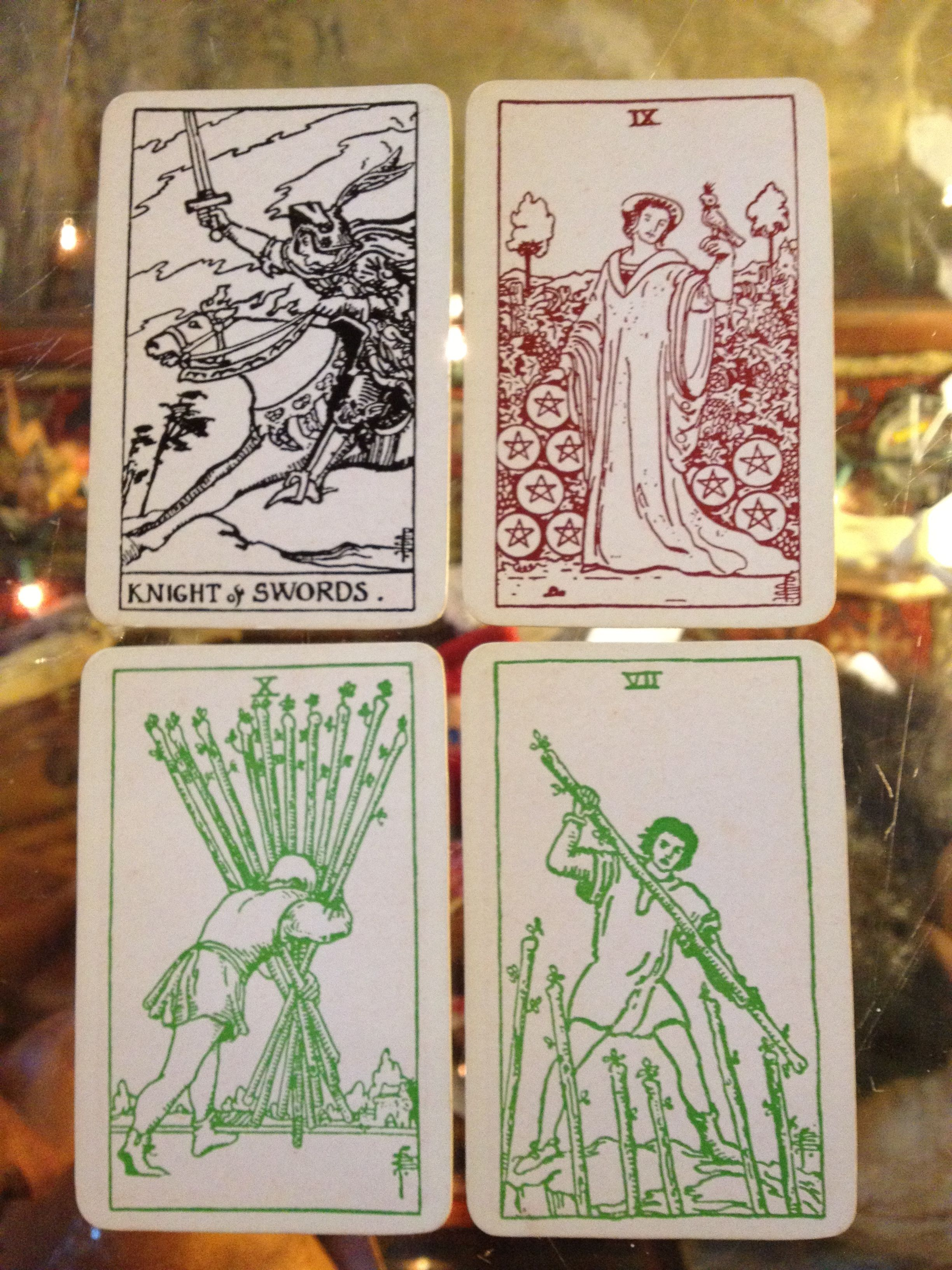 Old Tarot Cards Full Deck The High Priestess Stock: Old Tarot Cards At Dolly Python