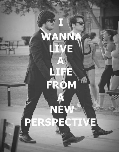 Panic at the disco lyrics new perspective