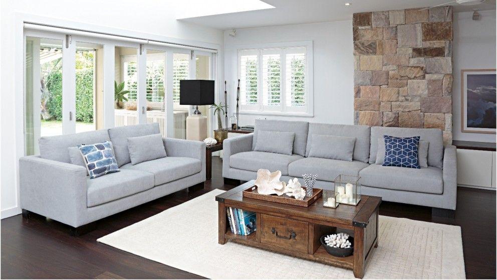 isabelle 2 piece fabric lounge suite lounges harvey norman