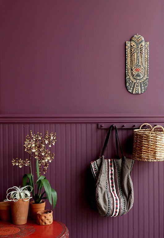 Bright Purple Paint Inspired By Brazil Colorhouse Sfbybay Voor Meer Kleurinspiratie Kijk Ook