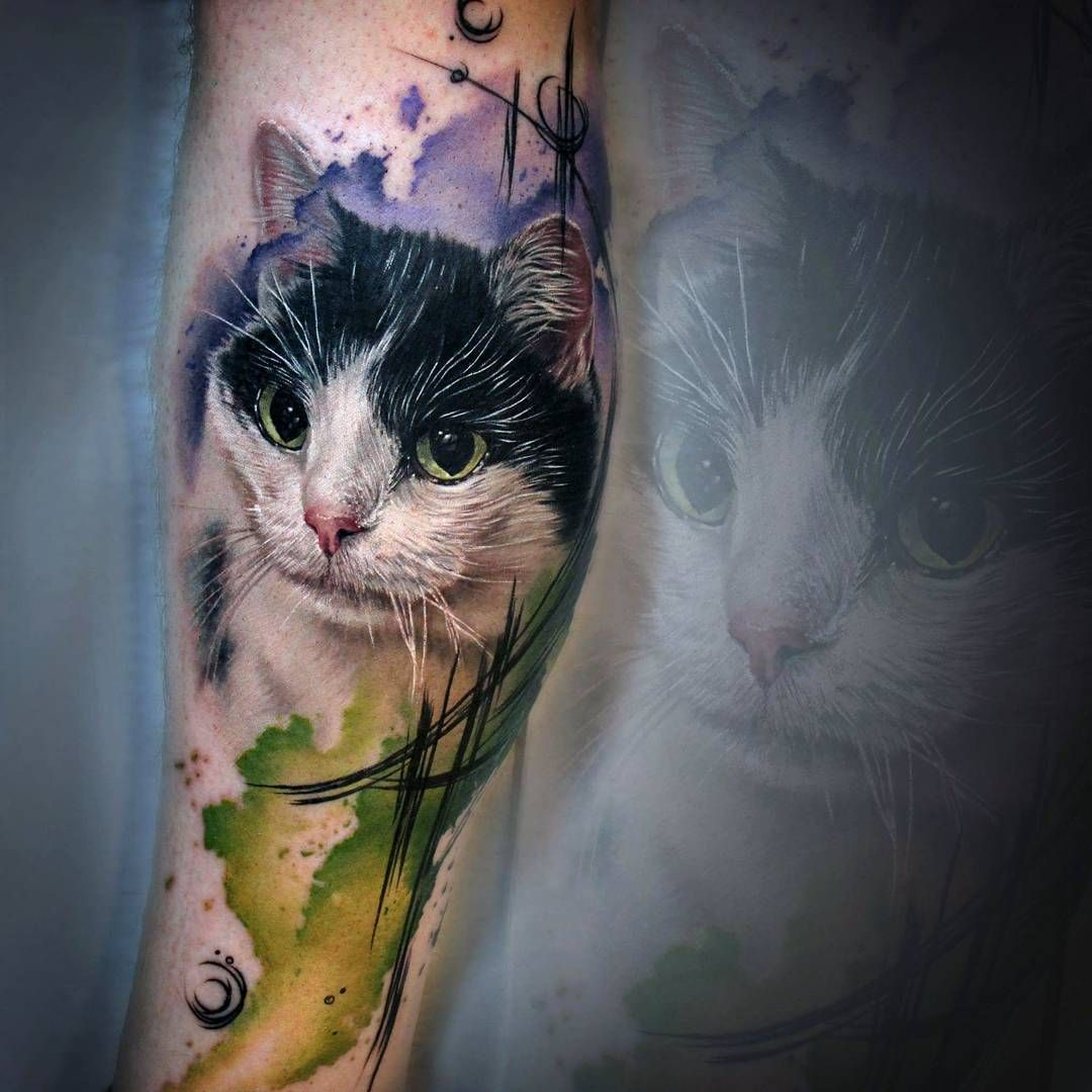 tattoo by Sandra Daukshta
