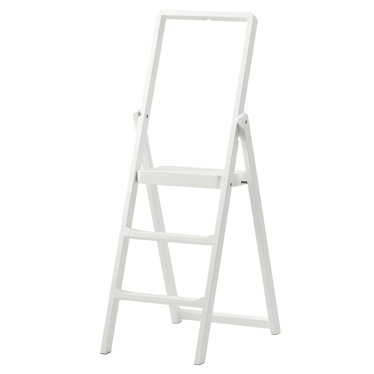 Design House Stockholm S Step Ladder Designed By Karl Malmvall Is So Beautiful That There Is No Need To Hide It After U In 2020 Step Ladders House Design White Stain