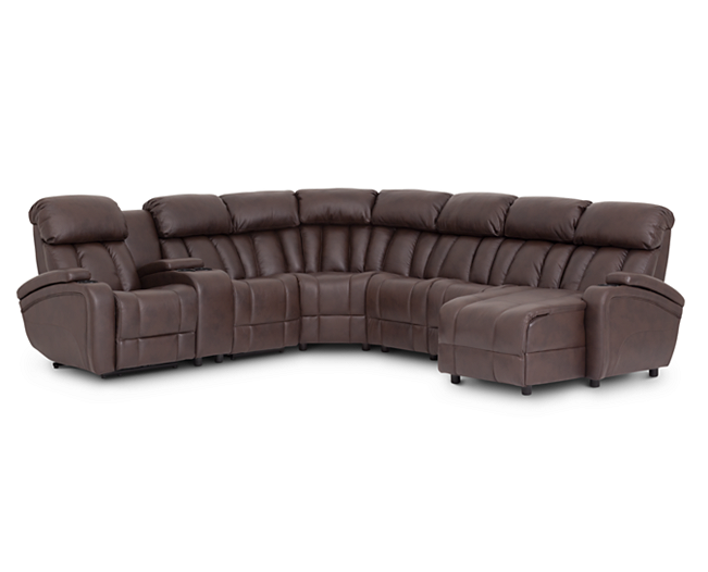 Sofas Starship 7 Pc Modular Sectional Out Of This World Features