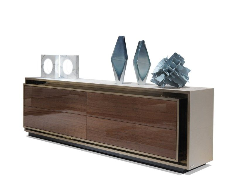Download The Catalogue And Request Prices Of Rawdon By Visionnaire Lacquered Wooden Sideboard With Wooden Sideboard Marble Furniture Italian Furniture Modern