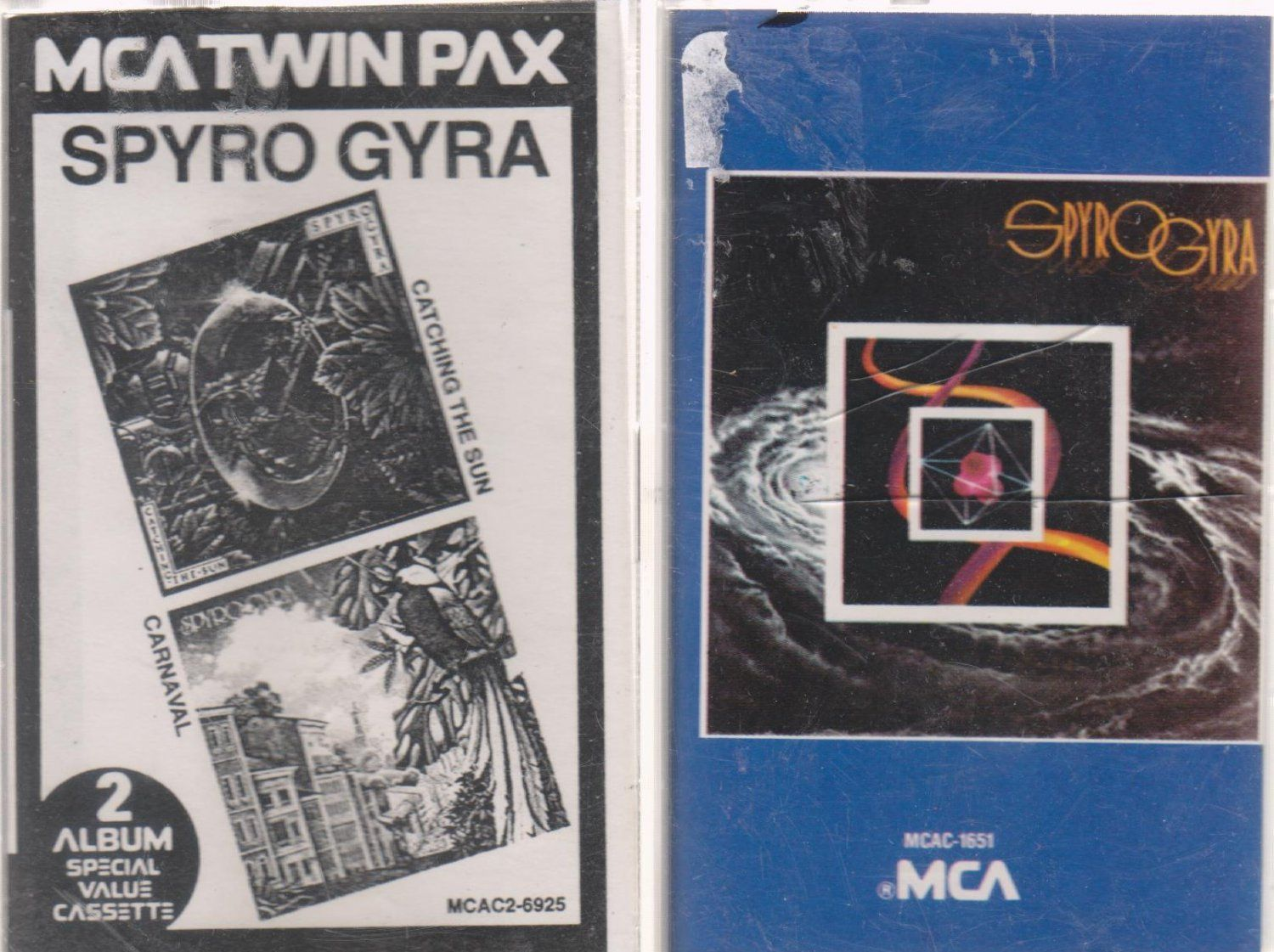 Spyro Gyra Cassettes-- If you are not buying from me, you are probably paying to much!  visit ivanhoe.ecrater.com and see for yourself.