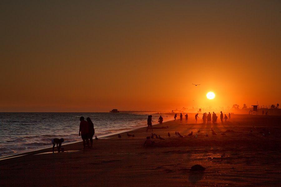 Newport beach ca photo sunrise sunset beautiful sites