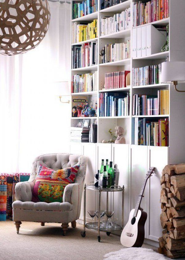 ikea hacking comment rendre originale votre biblioth que billy b i b l i o t h q u e. Black Bedroom Furniture Sets. Home Design Ideas