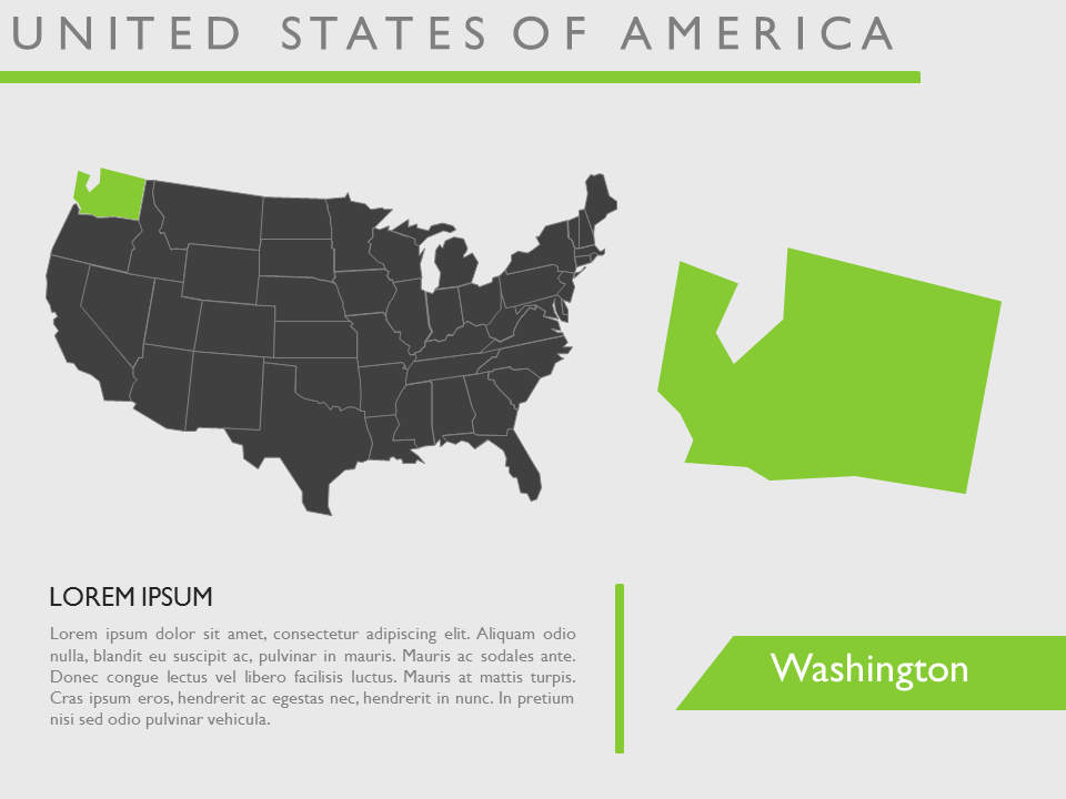download editable microsoft power point presentation usa map vector