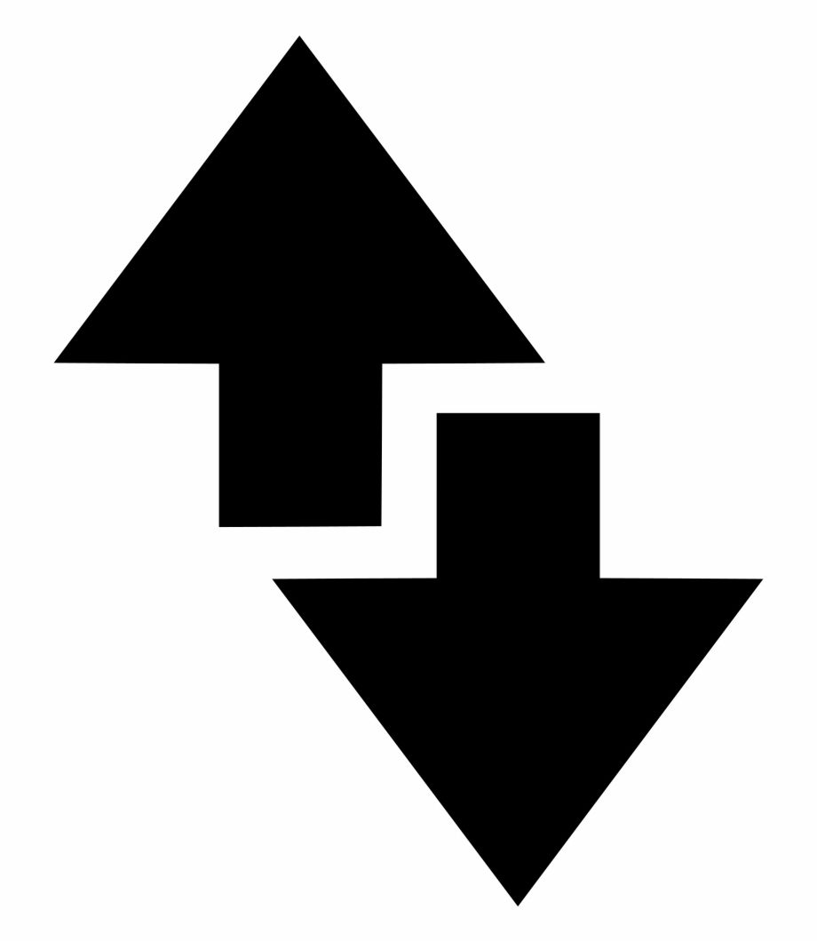 Up And Down Arrow Png Arrow Illustration Down Arrow Down Arrow Symbol