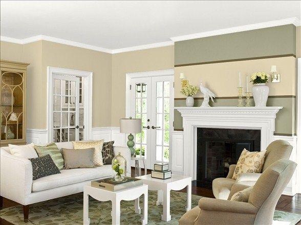 Benjamin Moore Crisp Khaki Home Paint Colors For