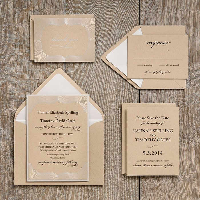 wedding invitation ideas: paper source. save the dates include,