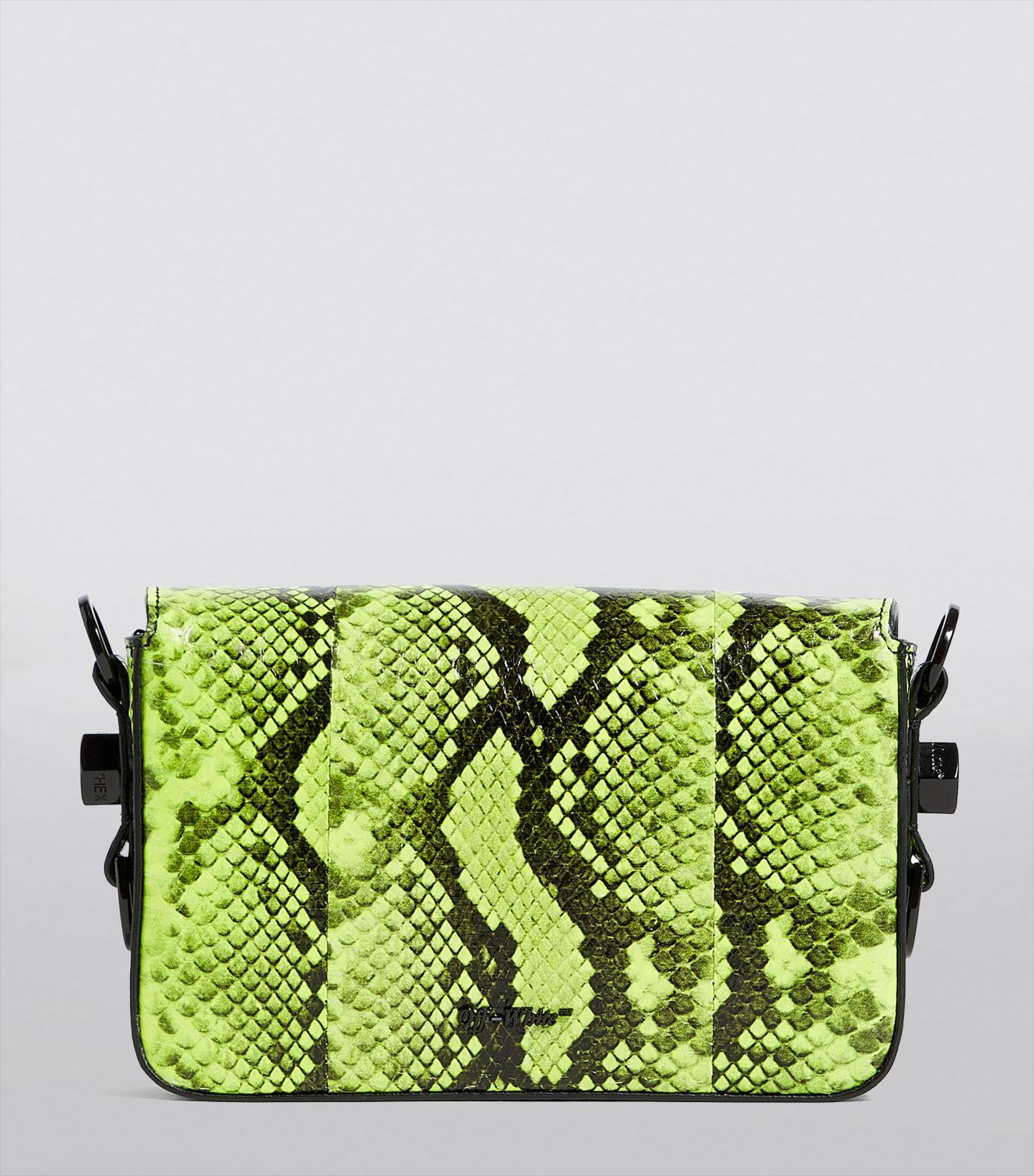 Mini Leather Binder Clip Bag
