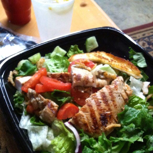 My Zaxbys Grilled Chicken House Zalad That Was My Dinner Last Night