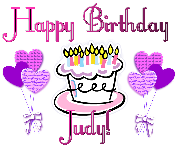 Happy Birthday Judy With Images Birthday Wishes Happy Birthday
