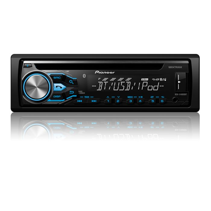 DEH-X4800BT - <b>NEW!</b> - CD Receiver with MIXTRAX