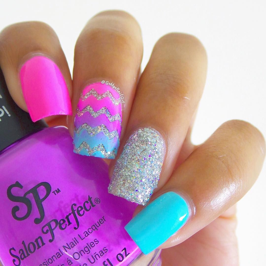 Cute easy nail art design ideas for summer for short nails