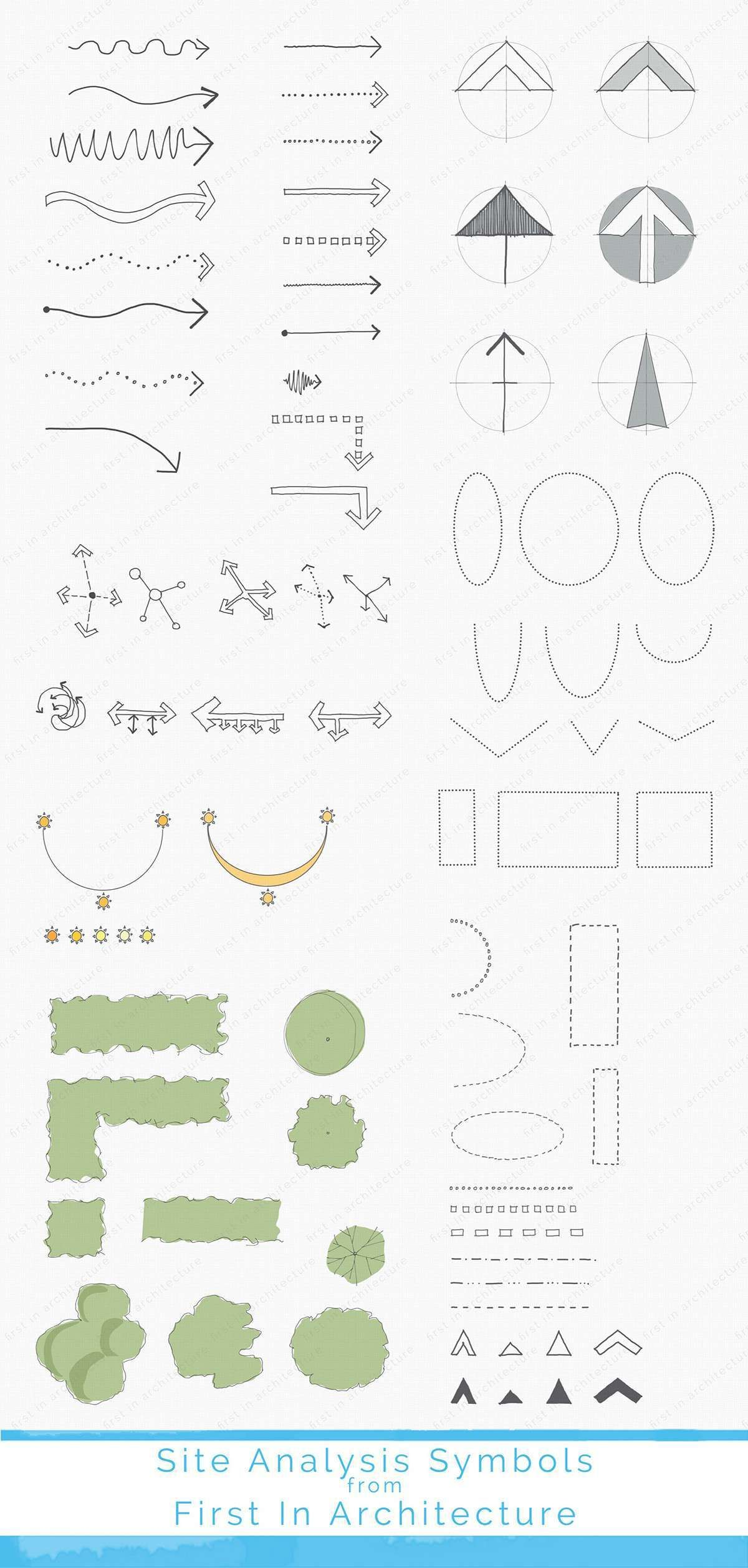 site analysis symbol