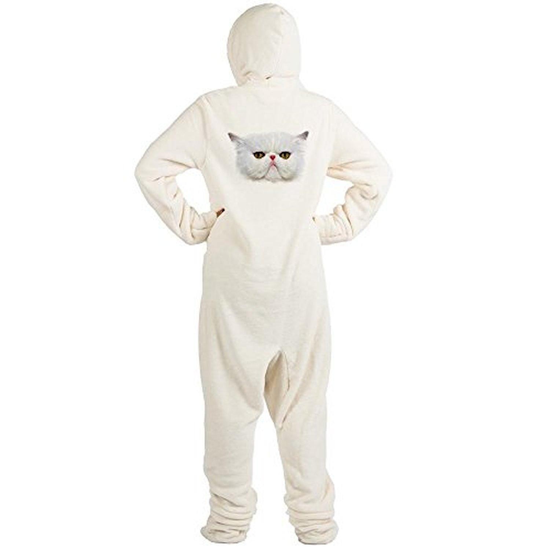 CafePress - Grumpy Cat - Novelty Footed Pajamas 74eb6a22c